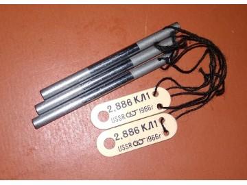 Проволочки для измерения среднего диаметра резьбы