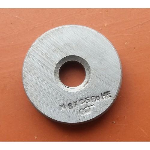 Кольцо резьбовое М8х0,5       НЕ    6g *