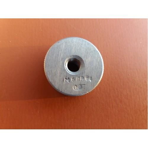 Кольцо резьбовое М6х1    ПР  6g *