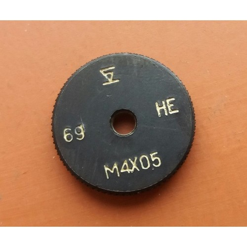 Кольцо резьбовое М4х0,5 НЕ 6g *