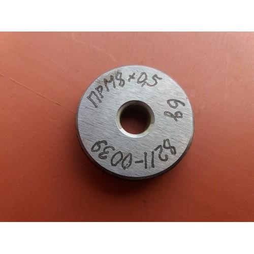 Кольцо резьбовое М8х0,5     ПР  6g *