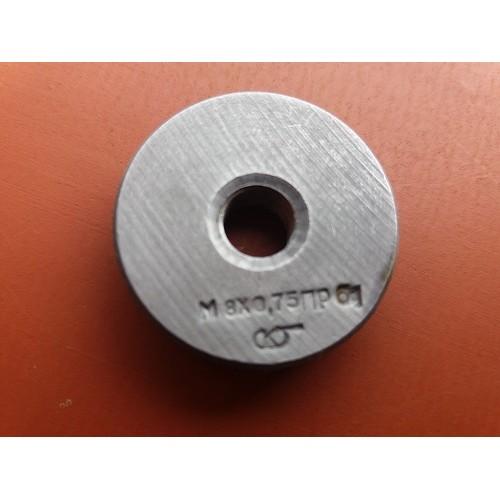 Кольцо резьбовое М8х0,75 ПР 6g